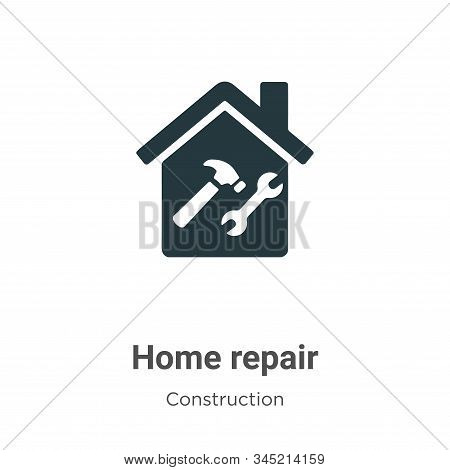 Home repair icon isolated on white background from construction collection. Home repair icon trendy
