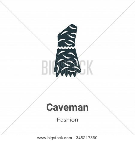 Caveman icon isolated on white background from fashion collection. Caveman icon trendy and modern Ca