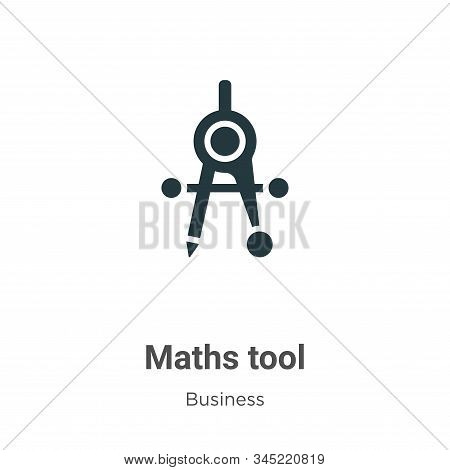Maths tool icon isolated on white background from business collection. Maths tool icon trendy and mo