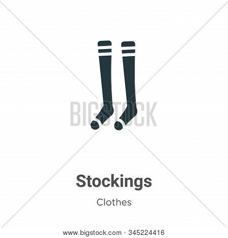 Stockings icon isolated on white background from clothes collection. Stockings icon trendy and moder