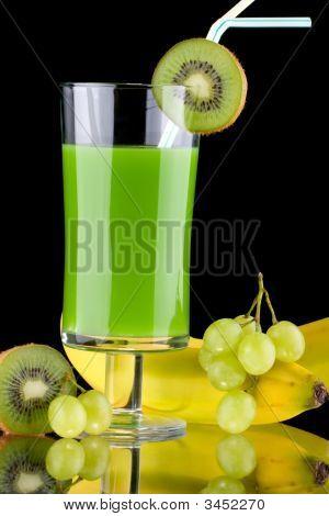Juice And Fresh Fruits - Organic, Health Drinks Series
