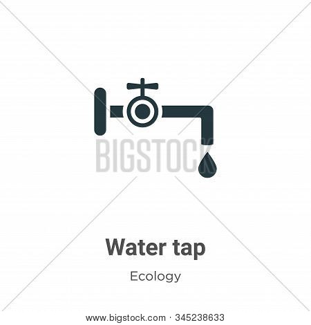Water tap icon isolated on white background from ecology collection. Water tap icon trendy and moder