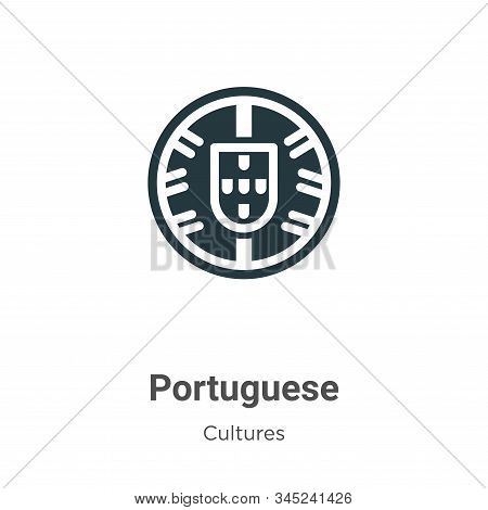 Portuguese icon isolated on white background from cultures collection. Portuguese icon trendy and mo