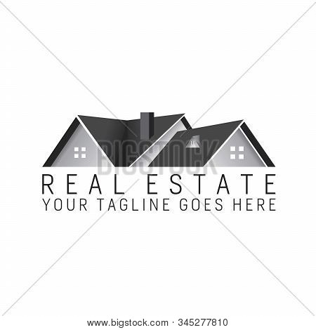 Design Of Home For Real Estate Logo