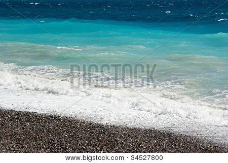 Mediterranean Sea In Nice
