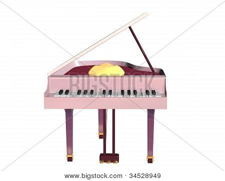 Musical Instrument A Grand Piano
