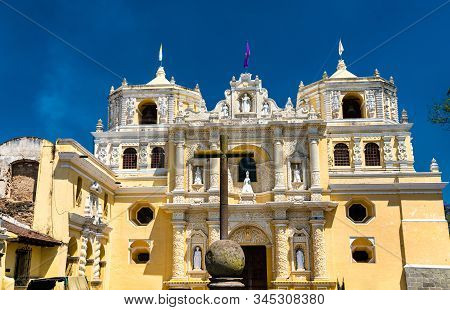 La Merced Church, A Baroque Church In Antigua Guatemala