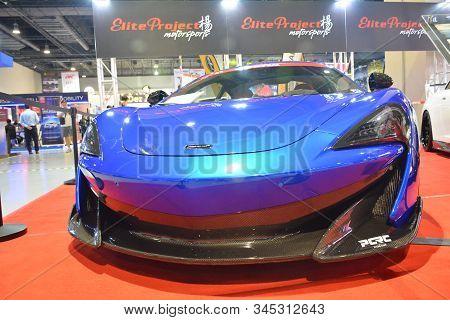 Pasay, Ph - Nov. 16: 2019 Mclaren 600 Lt At Manila Auto Salon On November 16, 2019 In Smx Convention
