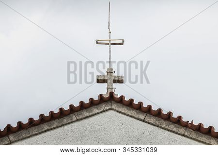Architecture Detail Of The Chapel Of S. Lourenco Near Esposende