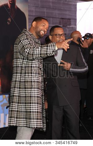 LOS ANGELES - JAN 14:  Will Smith, Martin Lawrence at the