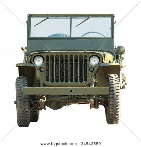 Military American Vehicle