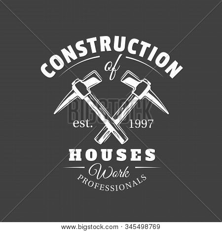 Vintage Construction Label