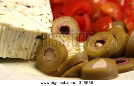 Feta Oliven