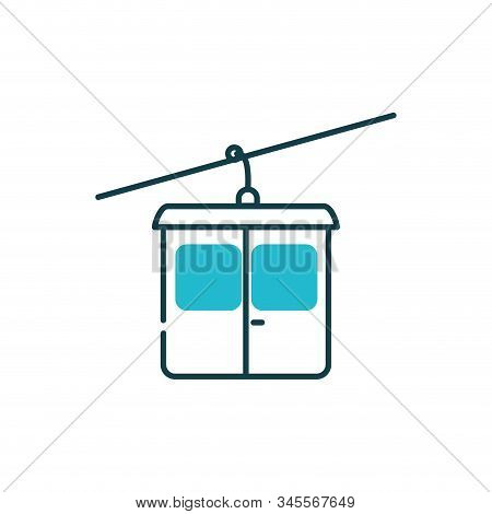 Aerial Tramway Vehicle Design, Transportation Travel Trip Urban Motor Speed Fast Automotive And Driv