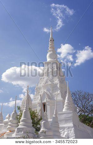 The Pagoda In Saraburi Province Of Thailand