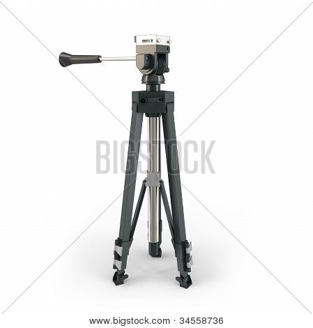 3D Detailed Camera Tripod