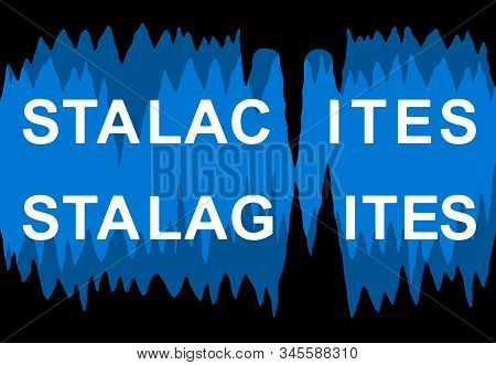 A Mnemonic Way To Remember The Difference Between Stalactites And Stalagmites. Stalactites And Stala