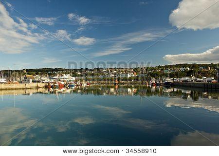 Harbor of Dublin Howth, Ireland