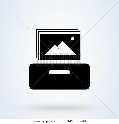 Collectibles. Vector Simple Modern Icon Design Illustration.