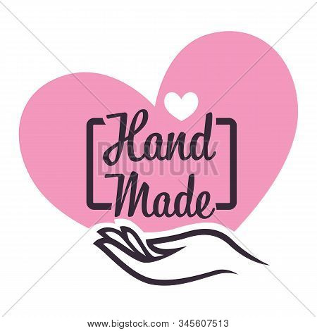 Handicrafts Store Or Handmade Gifts Shop Isolated Icon