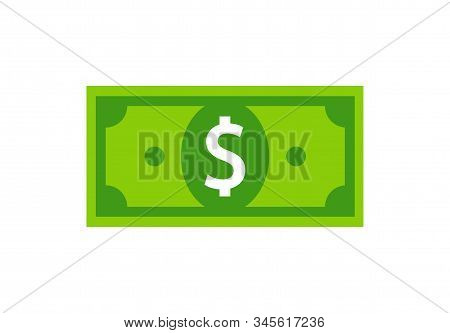 Vector Dollar Sign, Money Dollar Icon - Currency Dollar Bill Symbol Vector Eps 10