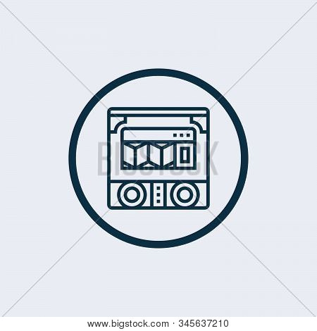 Jukebox Icon Isolated On White Background From Cafe Collection. Jukebox Icon Trendy And Modern Jukeb