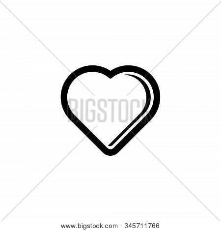 Heart icon. Heart icon isolated on white background. Heart icon eps. Heart icon Image. Heart icon logo. Heart icon sign. Heart icon flat. Heart icon design. Heart icon vector, Love Hearts, Love icon symbol vector isolated on white background.