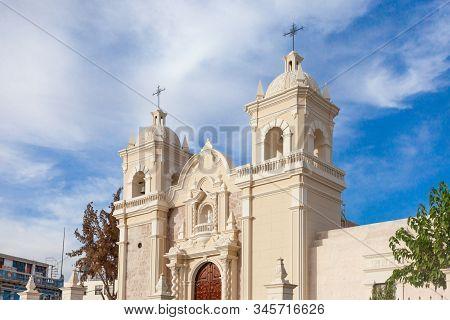 Monastery In Arequipa, Peru, South America. 2019 December 04