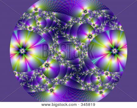 Purple Flower Ball