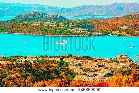 Porto Rotondo On Golfo Aranci At Costa Smeralda In Sardinia In Italy Reflex