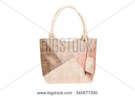 Elegant Women Bag. Fashionable Female Handbag, Isolated