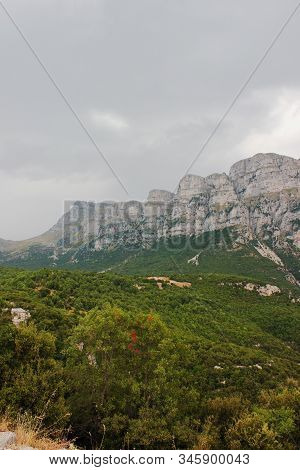 Astraka Peak Of Mount Tymfi Epirus Greece