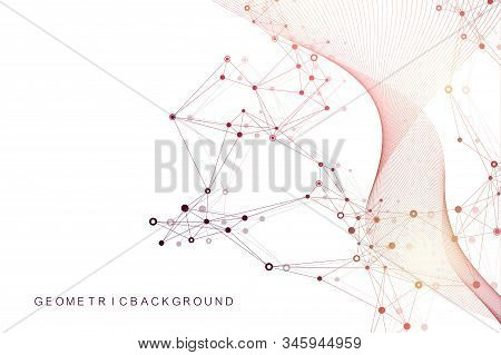 Big Genomic Data Visualization. Dna Helix, Dna Strand, Dna Test. Molecule Or Atom, Neurons. Abstract