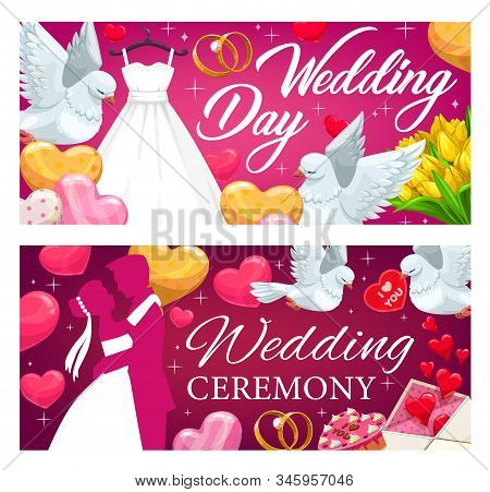 Wedding Banners Vector Photo Free Trial Bigstock
