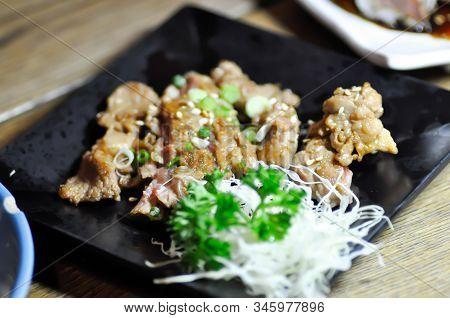 Stir-fried Pork Or Stir-fried Beef With Sesame, Japanese Food