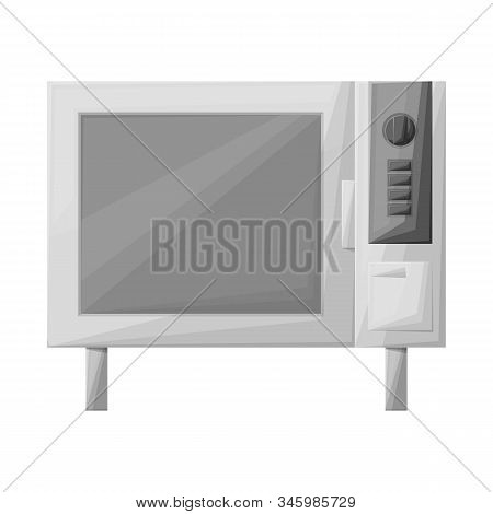 Vector Design Of Oven And Convection Sign. Web Element Of Oven And Microwave Stock Vector Illustrati