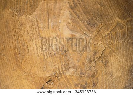 Old Wood Texture Background. Carved Wooden Surface As An Abstract Background.
