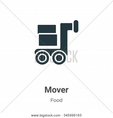 Mover icon isolated on white background from food collection. Mover icon trendy and modern Mover sym