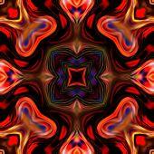 art vintage glasses geometric ornamental pattern poster
