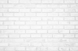 White Brick Wall Texture Background In Room At Subway. Brickwork Stonework Interior, Rock Old Clean