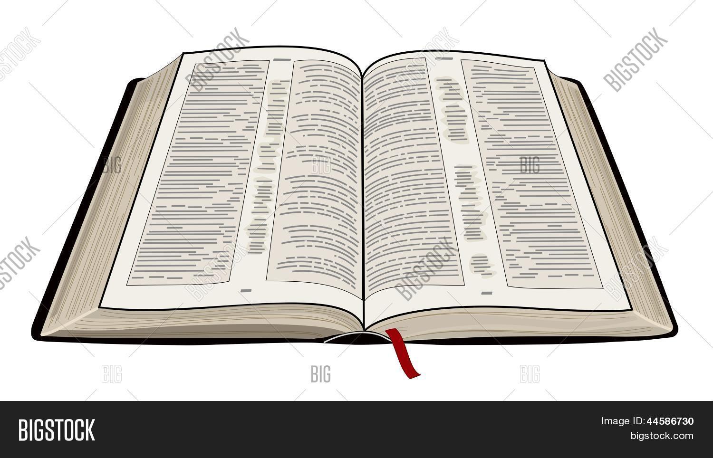 Vector Y Foto Biblia Abierta Prueba Gratis Bigstock