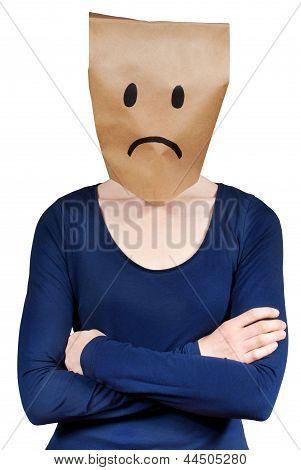 Person Symbolizing Sadness