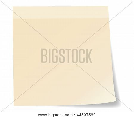 Stick note paper
