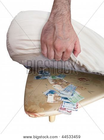 Keeping Money Under The Mattress