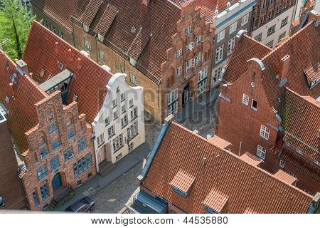 Luebeck Houses Top View