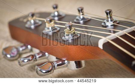 Acoustic Guitar Neck