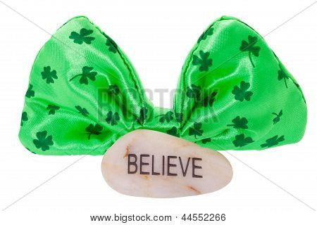 Believe With Clipping Path