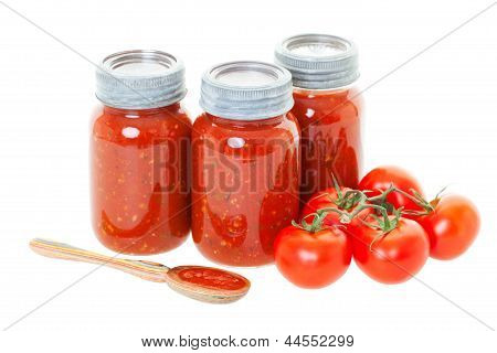 Home Canned Tomato Sauce