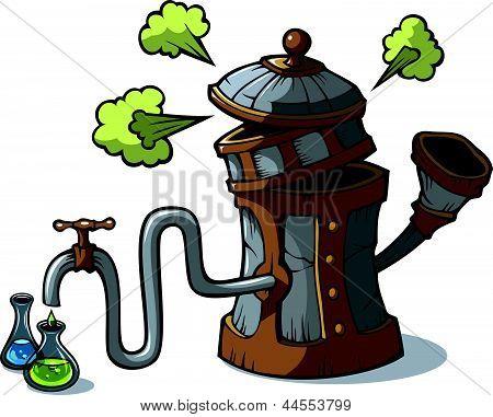 Distillation machine