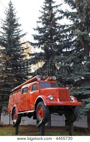 An Old Fire Truck